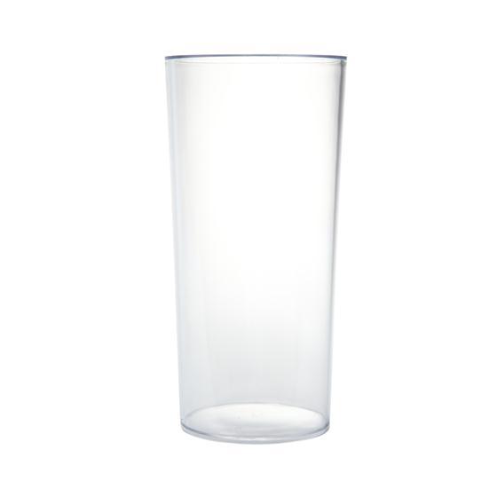 Acrylic Plastic Cylinder Vase 25cm X12cm Oasis Item Code 4122