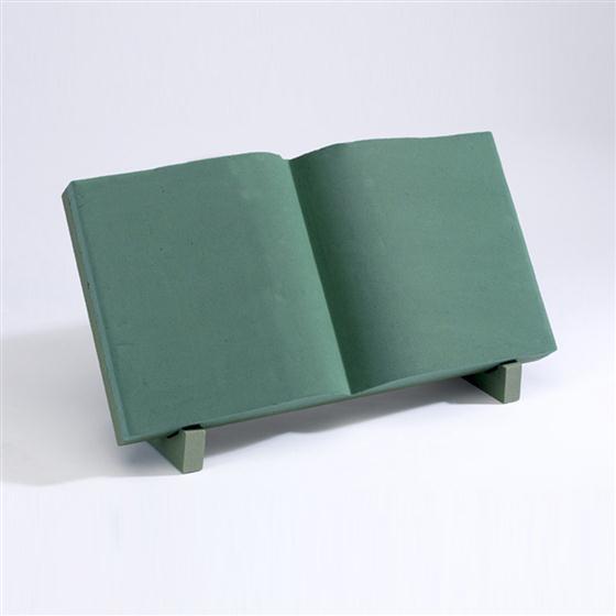 Oasis Open Prayer Book Foam Frame Floral Shape - item code: 8270