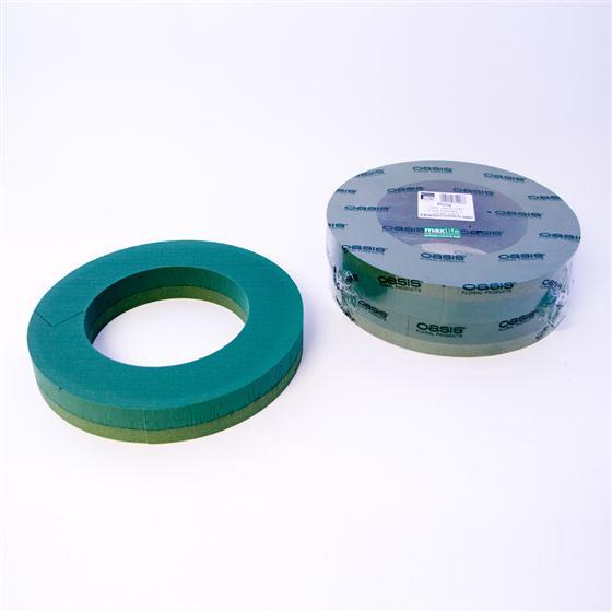 14 inch Oasis Floral Foam Wreath Rings - Oasis item code: 8203