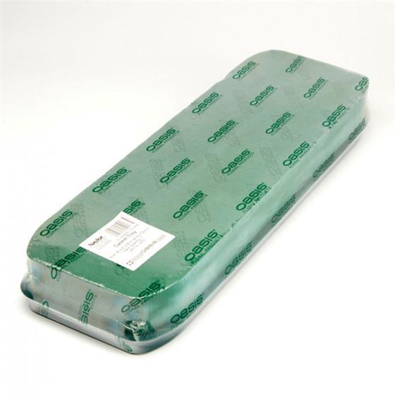 eccde41cb0f071 60cm Casket Tray Oasis Floral Foam Funeral Shape - item code  3073